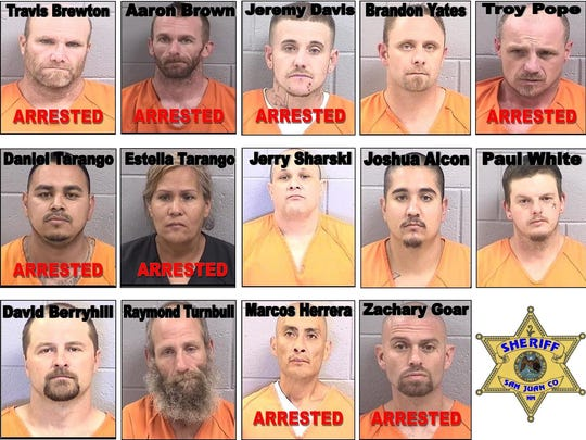 Police arrest eight in San Juan County crime ring