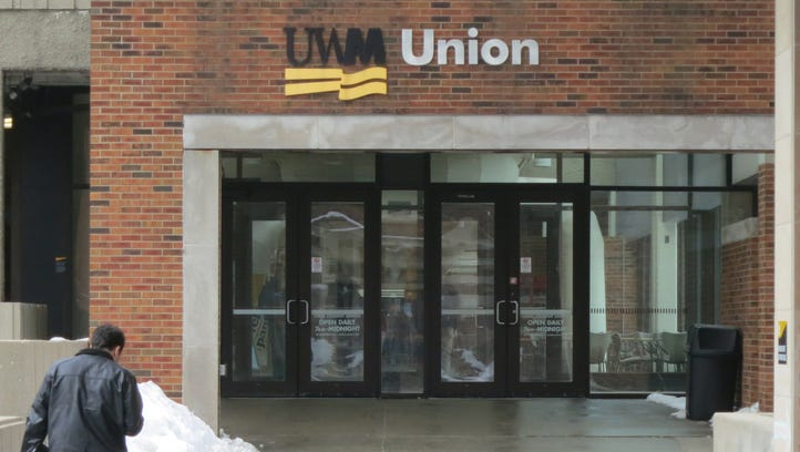 The UW-Milwaukee student Union building is shown in
