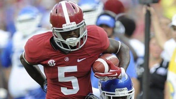 Former Alabama receiver Chris Black caught just 25