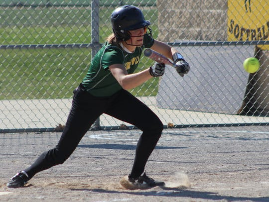 Junior tri-captain Claire Higley is a speed merchant who already has 24 stolen bases and 31 runs scored as Groves' leadoff batter.