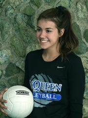 McQueen's Kaila Spevak poses for a photo during a recent game.