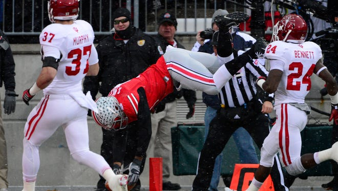 By beating Indiana, Braxton Miller and Ohio State secured a spot in the Big Ten championship game on Dec. 7.