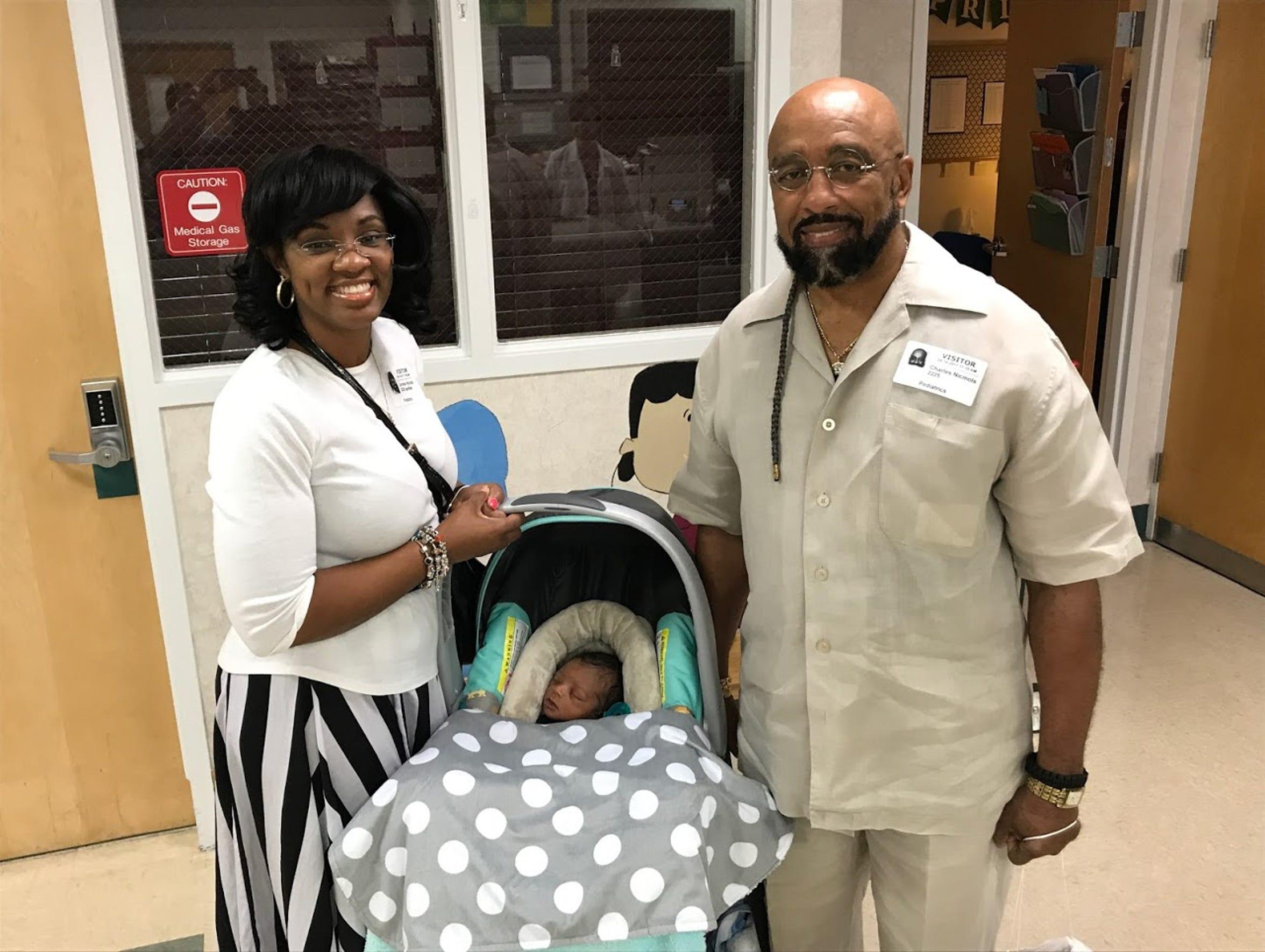 Lorraine and Charles Nichols prepare to leave Tallahassee