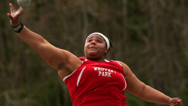 Whippany Park junior Nickolette Dunbar won the shot put and finished second in the discus at the Morris County Championships.