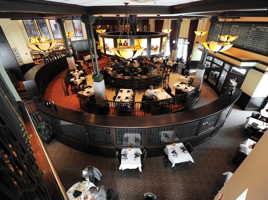 A view of the dining room at Harry & Izzy's, 153 Illinois