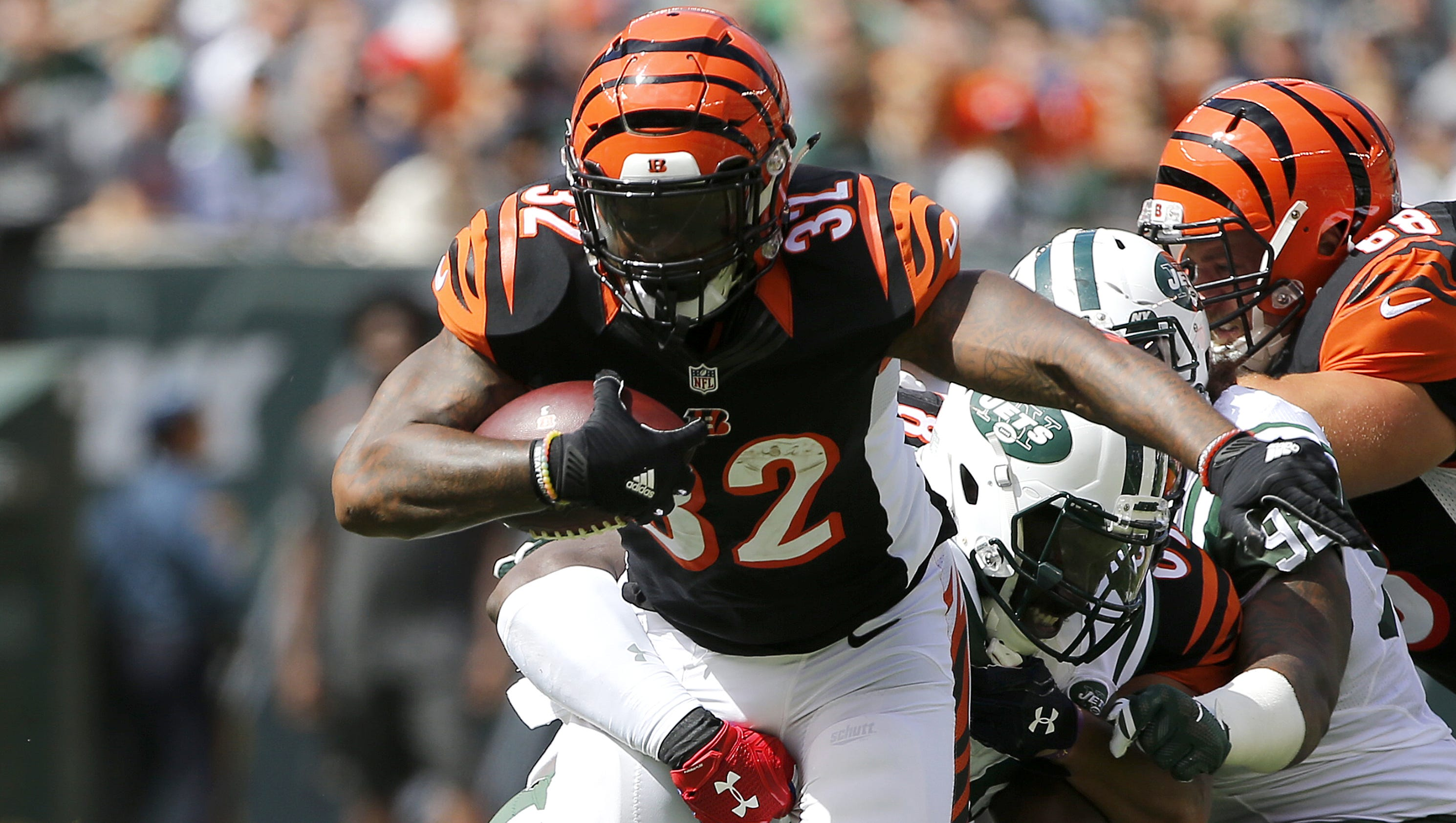 baeef97fe ... Limited White Jersey Nike NFL Los Angeles Rams Vapor Untouchable Road  Doc 10 takeaways from Bengals-Jets Cincinnati Bengals tackle Andrew  Whitworth (77) ...