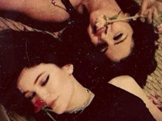 Kylie Jenner and Selena Gomez (c) Instagram