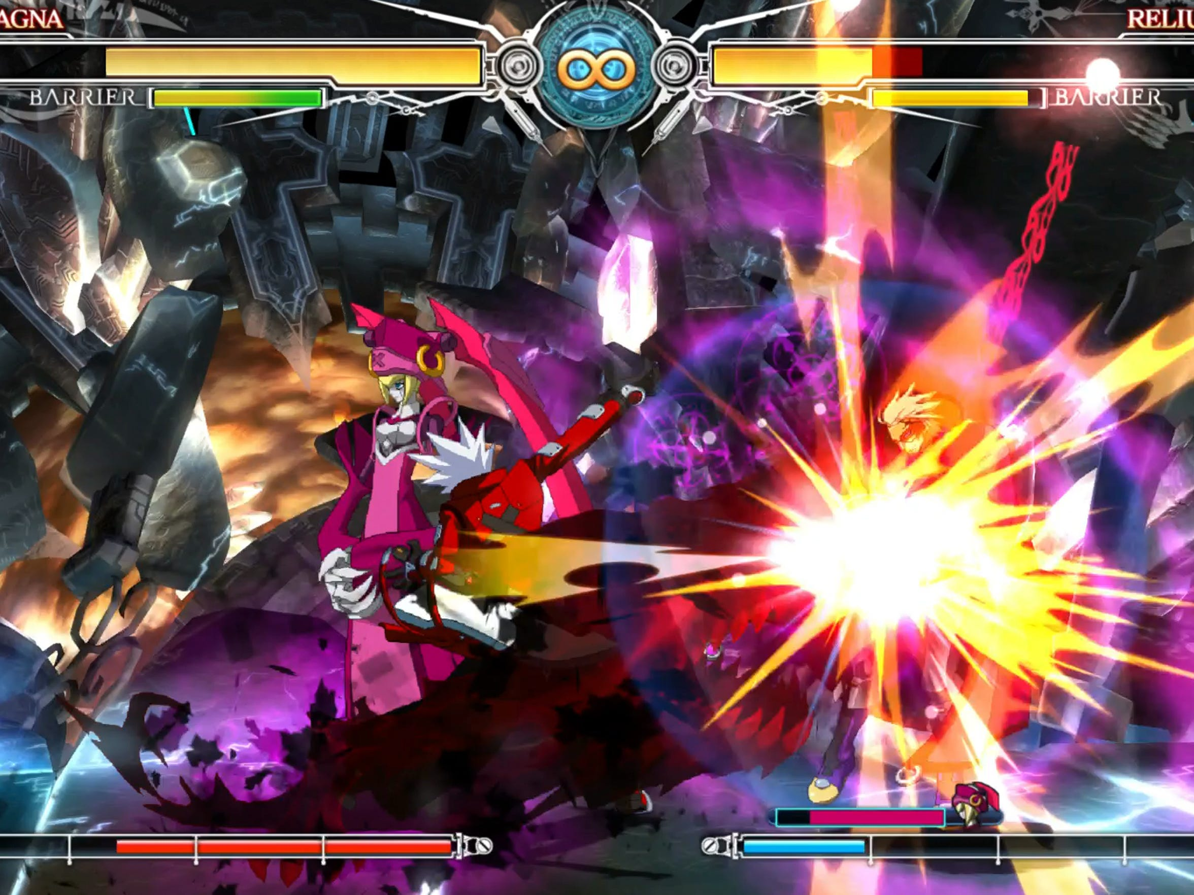 """Flashy effects are part and parcel of """"BlazBlue: Central"""