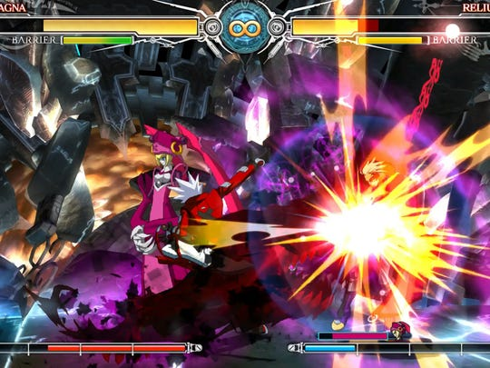 "Flashy effects are part and parcel of ""BlazBlue: Central Fiction."""