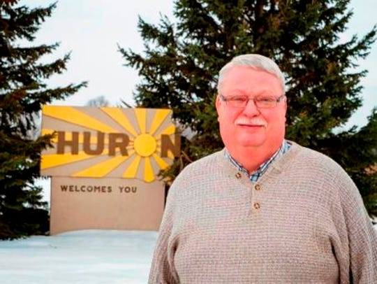 Paul Aylward, mayor of Huron