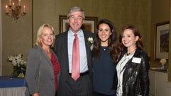 Cindy Feury, Bob Feury, Jr., Lauren Feury, Meghan Byrnes.