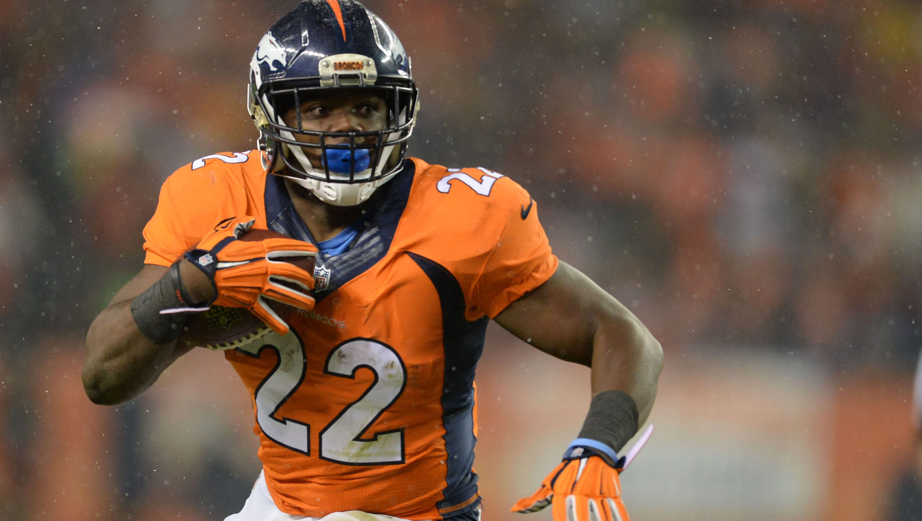 Broncos keep RB C.J. Anderson after matching Dolphins offer sheet