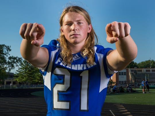 Clayton Coll, linebacker, Franklin Community High School,