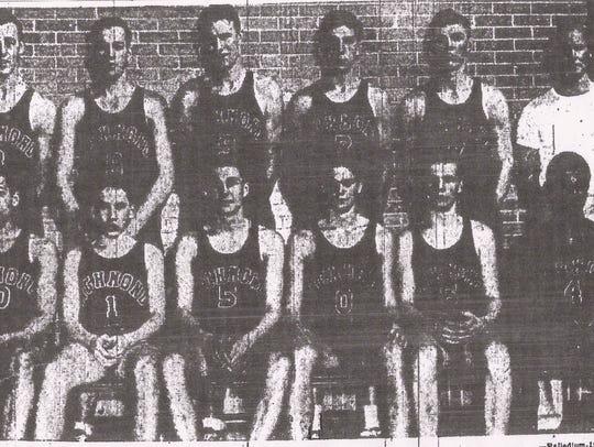 Richmond's 1943 boys basketball team advanced to the
