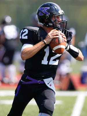 Kenyon College freshman Thomas Merkle, a York Suburban graduate, was recently named North Coast Athletic Conference Newcomer of the Year.