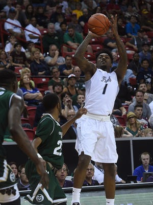 Nevada's Marcus Marshall will compete in the Portsmouth Invitational Tournament next month.