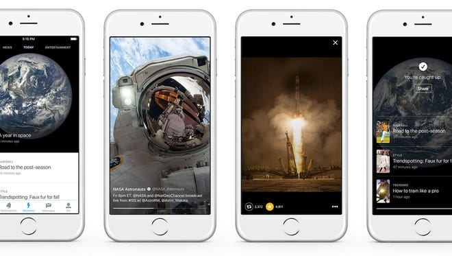 Twitter debuts Moments feature to lure more regular users into the fold.