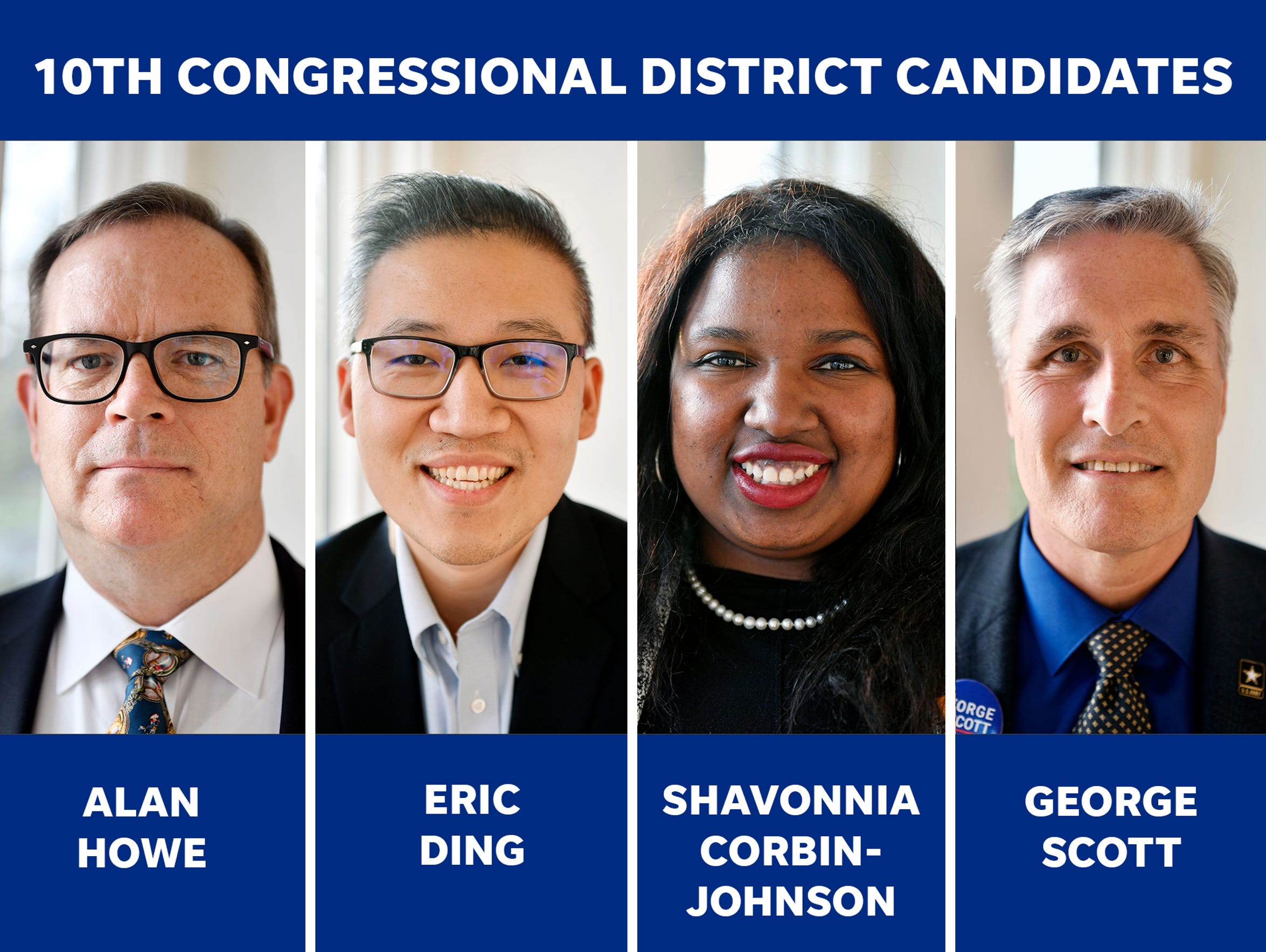 Four candidates are competing in the Pennsylvania's