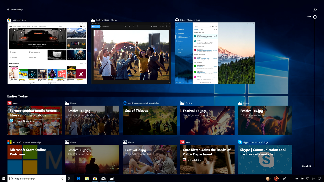 The new Windows 10 update has some features that save time. Columnist Marc Saltzman explains how they work.