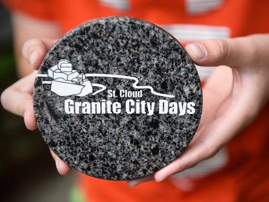 The Granite City Days medallion - many seek it, few succeed.