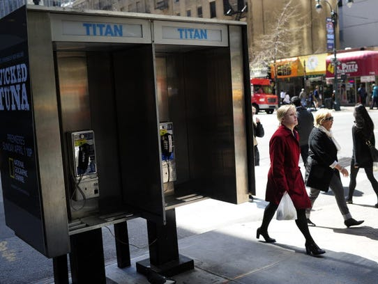 Phone booths in today's digital world are now a thing