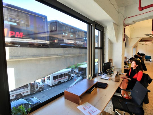 'Co-working spaces' in Detroit
