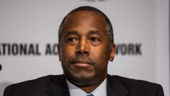 Ben Carson attends the National Action Network national