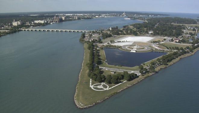 Belle Isle in Detroit