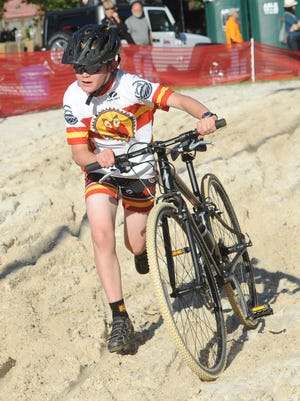 The Asheville Cyclocross Race opens the Mountain Sports Festival  Friday, May 27 at Carrier Park.