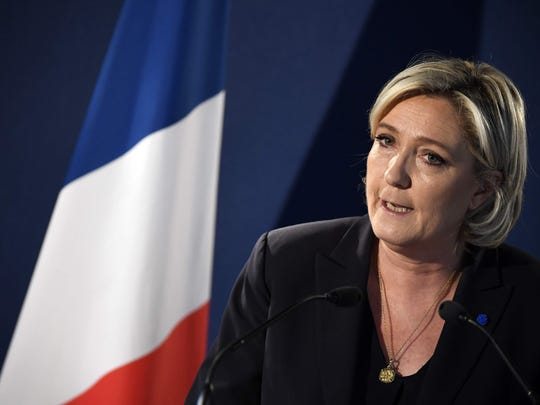 French presidential candidate for the far-right National