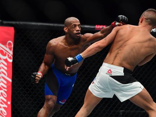 MMA: UFC Fight Night-Williams vs Duquesnoy