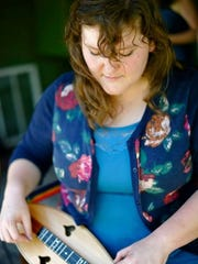Champion dulcimer player Sarah Morgan will be featured