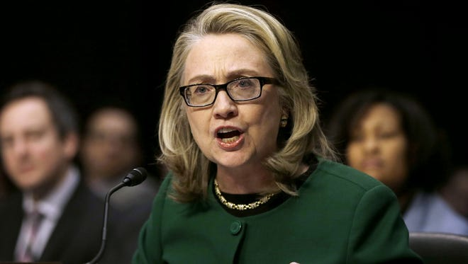 "In this Jan. 23, 2013, file photo, Secretary of State Hillary Rodham Clinton testifies on Capitol Hill in Washington, on the deadly September attack on the U.S. diplomatic mission in Benghazi, Libya, that killed Ambassador Chris Stevens and three other Americans. A special U.S. House committee looking into the deadly Benghazi, Libya, attacks in 2012 will interview a host of current and former high-ranking Obama administration officials as it speeds the pace of the investigation. The panel's Republican chairman Rep. Trey Gowdy has previously said he will ask Clinton, secretary of state at the time of the attacks, to testify at a public hearing before the 12-member committee. He said Friday that appearance should occur ""as soon as possible."" Clinton is widely expected to run for president in 2016."