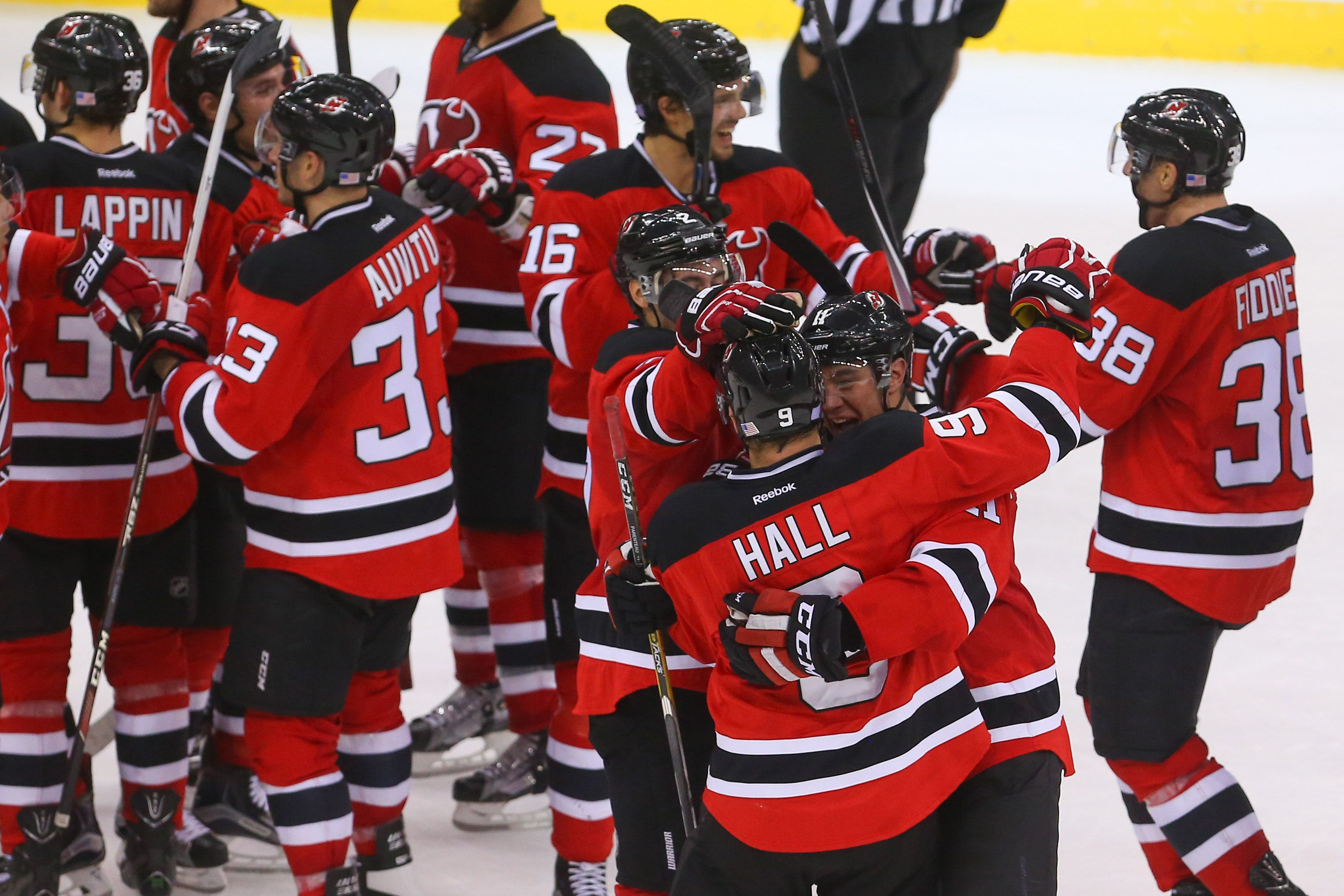 new jersey devils lines 2016
