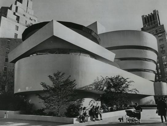 This is an exterior view from April 1959 of the Solomon