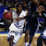 Point guard Jacob Ivory's playing days are over at MTSU.