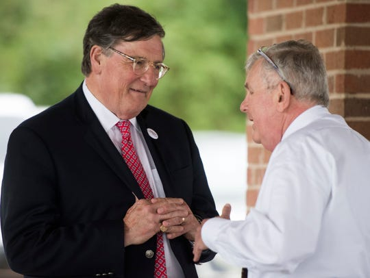 If elected governor, Craig Fitzhugh said his top priority would be to work with the General Assembly to expand Medicare.