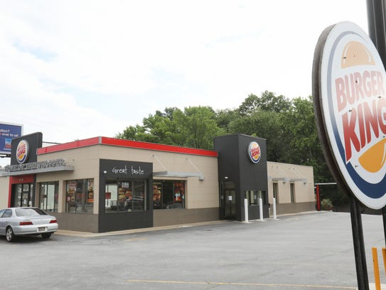 Burger King location on Concord Pike.