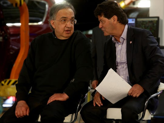 Sergio Marchionne, the chairman and CEO of Fiat Chrysler