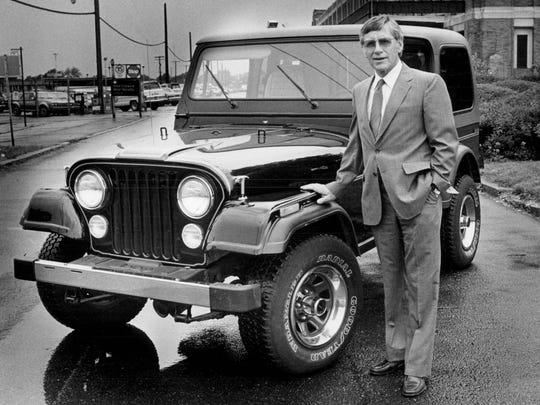 Roy Lunn in 1983.