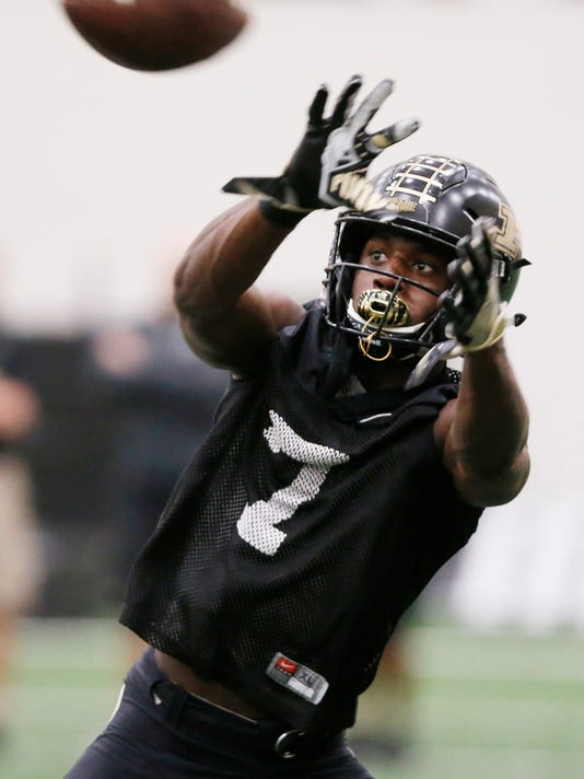 LAF Purdue spring football practice day 11
