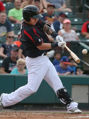 Rochester's Byung-ho Park is finding his power stroke at the plate.