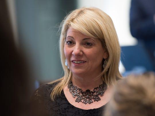 House Majority Leader Rep. Valerie Longhurst (D) Bear.