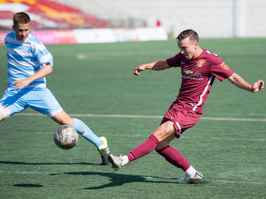 Attacking midfielder Danny Deakin will be back in his third tenure third tenure with Detroit City FC.