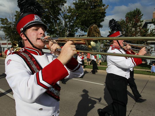 Wausau's annual Labor Day Parade on Monday, September 7, 2015.