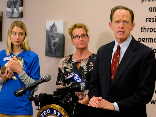 Toomey calls for PACT Act passage
