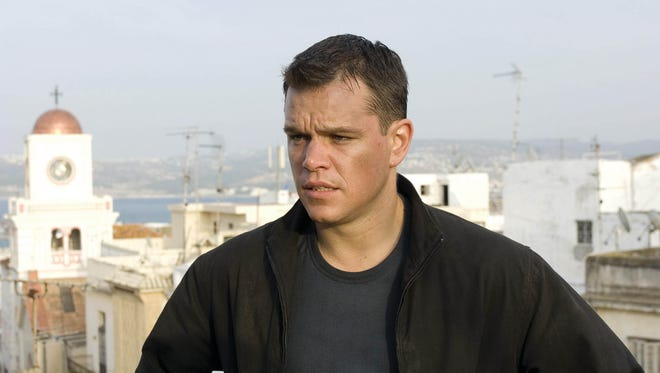 "Matt Damon appears in a scene from the motion picture ""The Bourne Ultimatum,"" which, incidentally, was not filmed in Salisbury, Maryland."