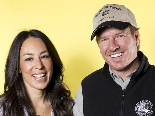 AP CHIP AND JOANNA GAINES PORTRAIT SESSION A ENT USA NY