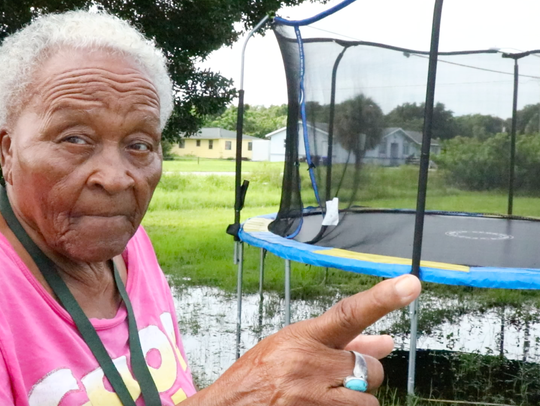 Fort Myers resident Annie Freeman remembers two borrow