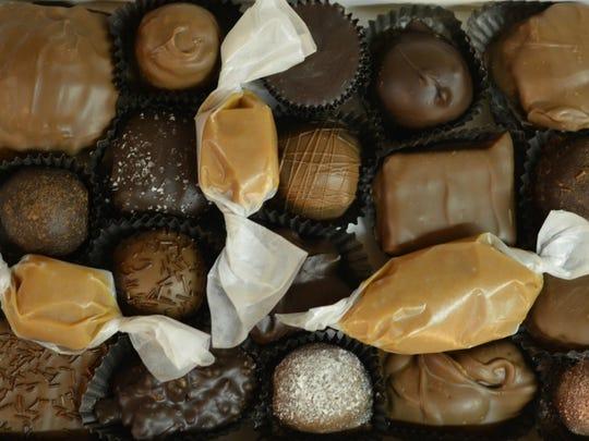 There are 100 varieties of chocolate at Grandpa Joe's